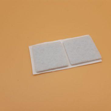 2 Stück Filzunterlagen für Türöffnerstange