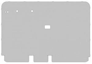VW Käfer Limousine 8/55-7/64S  Set Folien (Darstellung schematisch)
