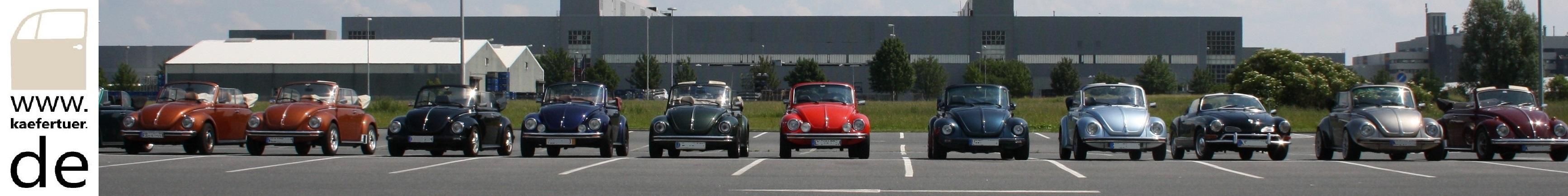 VW Käfer und T2 Türinnenfolien - 2-teilige Schalt führung -  Zylinderkopf Temperatur Überwachung - Benzinschlauch Satz