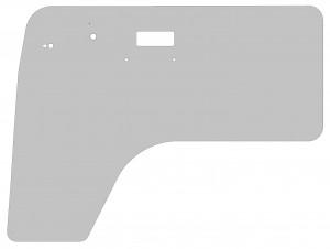 VW Bus T2a Satz Türinnenfolien  (Produktdarstellung schematisch)
