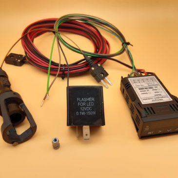 ZKT Stage 1.1 – CHT cylinder head temperature monitoring (set) – 6 or 12 Volt
